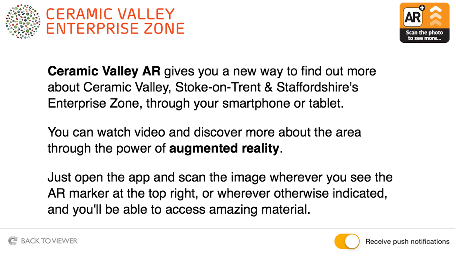Ceramic Valley AR- screenshot
