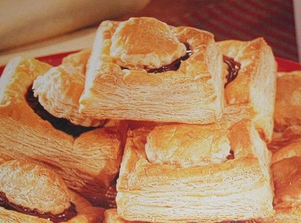Chocolate Pastry Squares Recipe