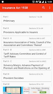 Insurance Act, 1938  App Download For Android 2