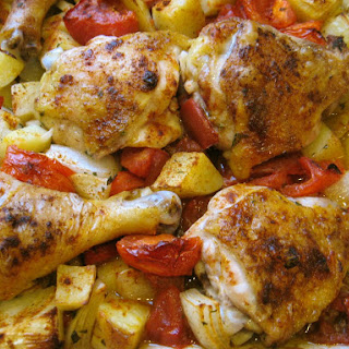 Chicken Calabrese.