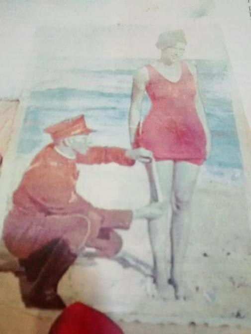 Noticias criminología. Los policías de España medían la longitud del bañador. Marisol Collazos Soto. Criminologia, ciencia, escepticismo