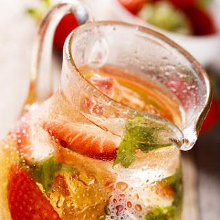 Strawberry Mint Sangria.