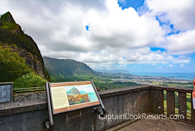 Pali Lookout Viewing Area