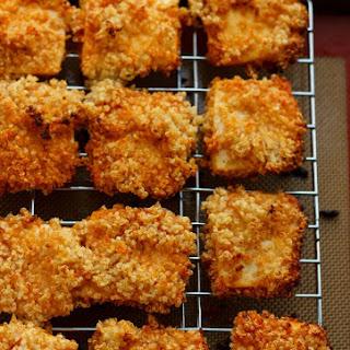 "Quinoa Crusted Tofu Nuggets (Tofu ""Chicken"" Nuggets!)."