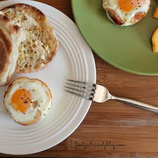 Baked Pancetta Egg Cups.