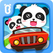 Baby Panda Car Racing