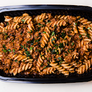 Wholemeal Pasta With A Lean Meat Sauce