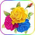 Wonderful Flowers Roses images Gif APK