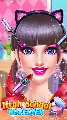 School Makeup Salon  screenshots 1