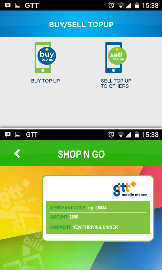 Mobile Money Guyana, MMG- screenshot