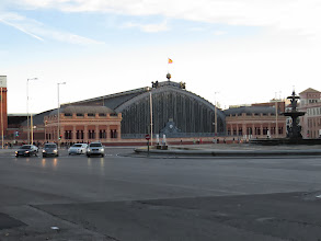 Photo: Estación Puerta de Atocha.