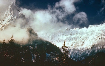 Photo: 67. Mt. Index and Persis Ridge, from Stevens Pass highway, south of Glacier Peak Wilderness.