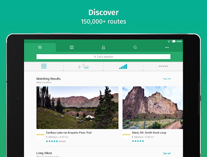 App ViewRanger: Trail Maps for Hiking, Biking, Skiing APK for Windows Phone