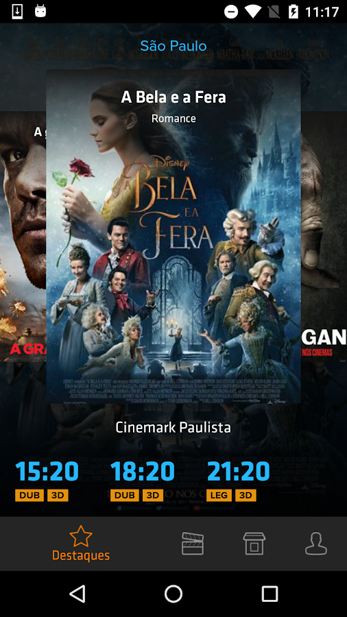 Ingresso.com - Filmes + Cinema: captura de tela