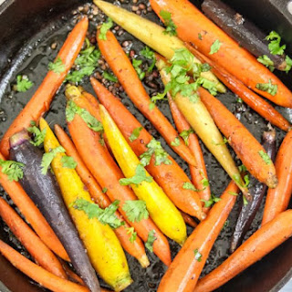 Maple Orange Glazed Carrots with Garlic Recipe