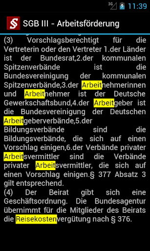 Sozialgesetzbuch screenshot 7