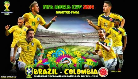 Đại chiến Brazil-Colombia hứa hẹn sẽ vô cùng hấp dẫn