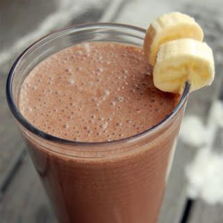 Dutch Chocolate Banana Breakfast Shake