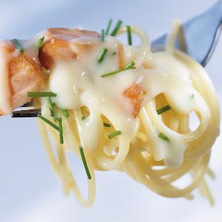 Lachs-Spaghetti