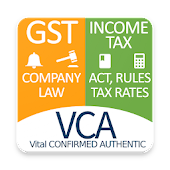 V CA Act Rules Rates Updates GST Income Tax