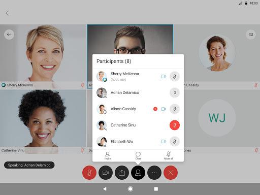 Cisco Webex Meetings screenshot 9