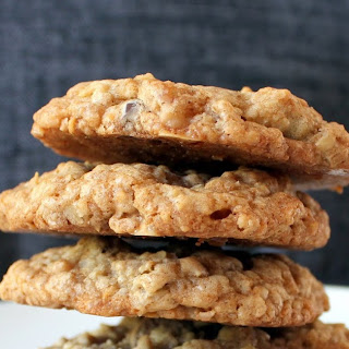 Oatmeal Chocolate Chip Coconut Toffee Cookies