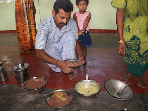 Photo: Simple Meal at Mankumban Jaffna Sri Lanka See the outdoor kitchen http://www.indiamike.com/photopost//showphoto.php?photo=38287