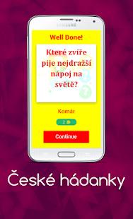 České hádanky - náhled