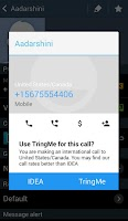 Screenshot of TringMe: International Calls