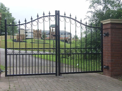 Various Welsh Gates and Railings