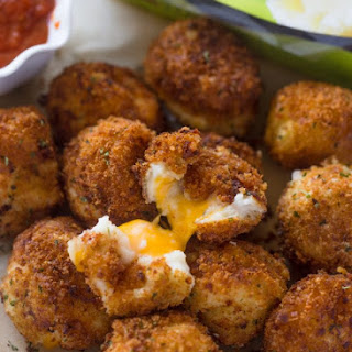 Cheese Stuffed Bacon Mashed Potato Balls + Giveaway!.