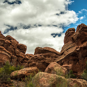 Stone Throne by Andrew Brinkman - Nature Up Close Rock & Stone