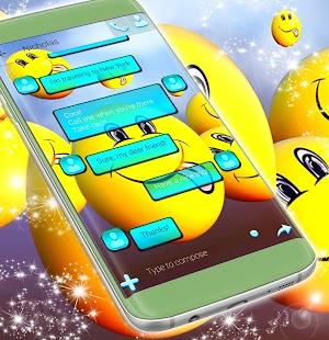 Emoji Background for SMS - náhled
