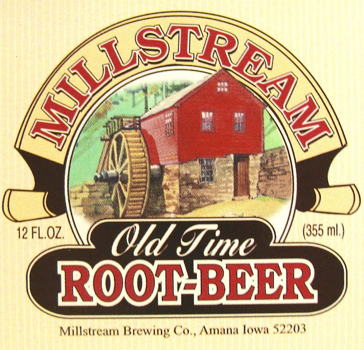 Logo for Millstream Old Time Root Beer