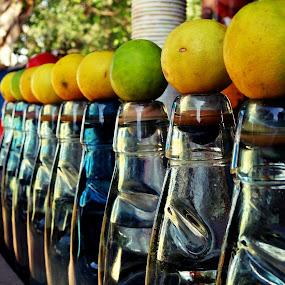 Goli Soda by Shashank Ramesh - Artistic Objects Other Objects ( food, street, glass, india, bottle, drinks, lemon )
