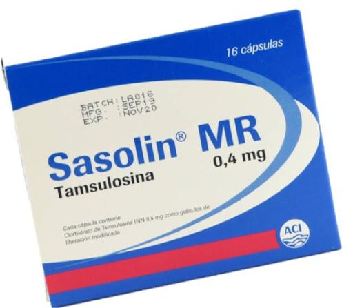 tamsulosina sasolin mr 0.4mg 16cápsulas aci limited