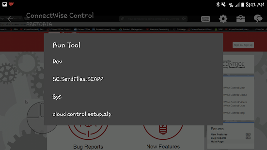 ConnectWise Control- screenshot thumbnail
