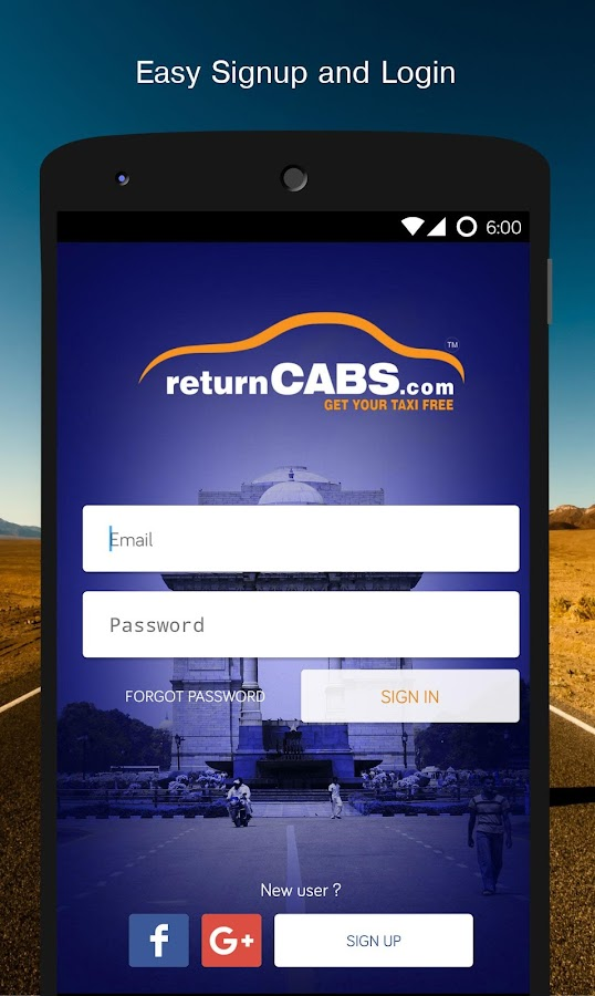 returnCABS -Get Your Taxi Free- screenshot