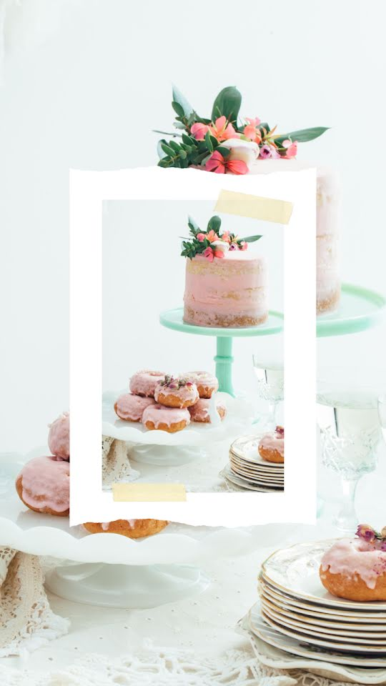 Springtime Desserts - Easter Template
