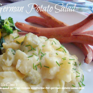 Oma's Recipe for German Potato Salad