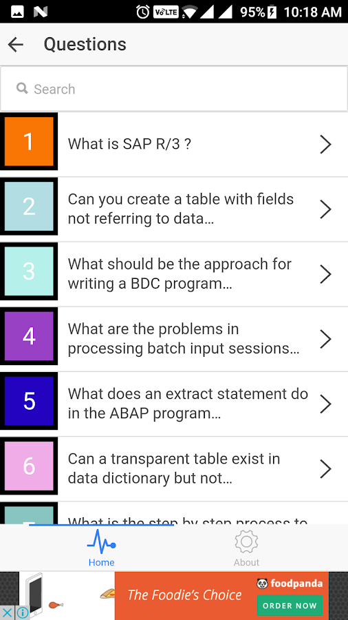 SAP Interview Questions- screenshot