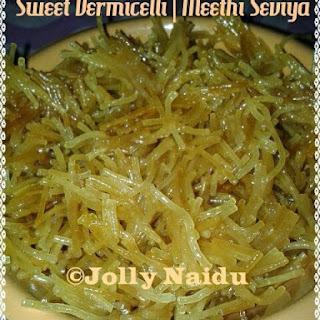 Sweet & Golden Vermicelli | Meethi Seviyan Recipe