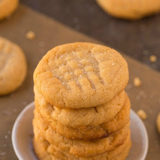 3 Ingredient Flourless Sugar Free Cookies (Paleo, Vegan, Gluten Free).