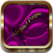 Abstract Purple Go Launcher