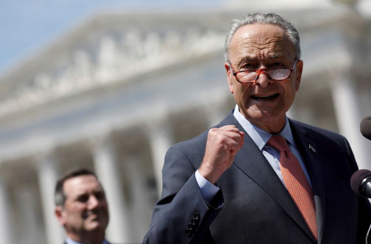 Senate Minority Leader Chuck Schumer speaks during a press conference for the Democrats' new economic agenda on Capitol Hill in Washington, U.S., August 2, 2017.