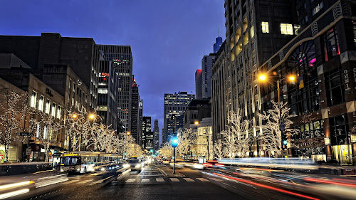 The Magnificent Mile by Photo By Vlad - City,  Street & Park  Street Scenes ( magnificent mile, chicago, downtown )