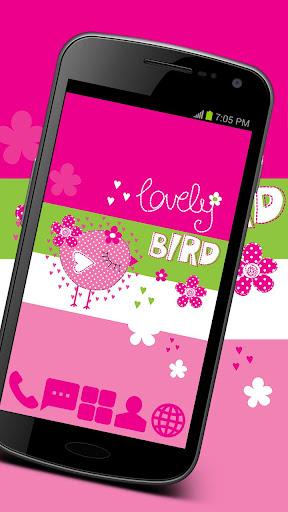 Sweet Bird Theme GO ADW APEX