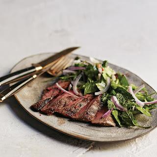Flank Steak with Thai Salad