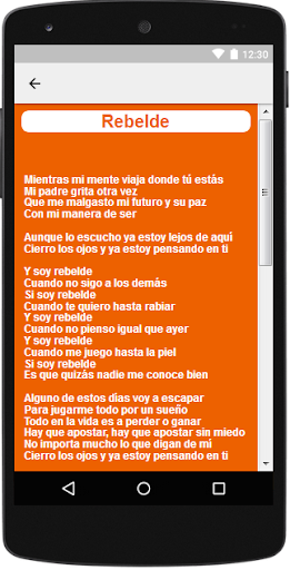 Descargar mp3 de soy rebelde rbd letra gratis. Buentema. Org.