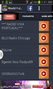 World Folk Radio screenshot 2